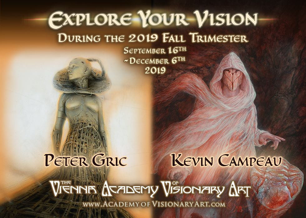 The Vienna Academy of Visionary Art Fall Trimester 2019